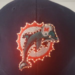 NFL Light Up Miami Dolphins Hat!!